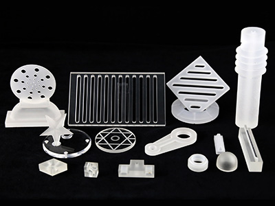 CNC Quartz Parts / Glass Parts